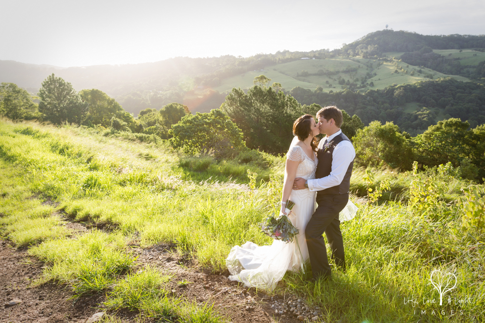 Bride & Groom landscape