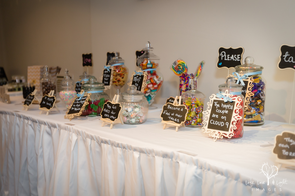 Wedding favour and lolly bar