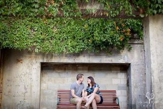 engagement session at Brisbane powerhouse